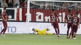 Serie C Trapani-Siracusa 2-1, Taugourdeau e Ramos. Il derby è granata