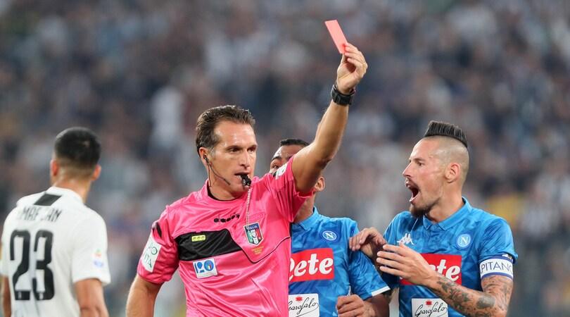 """Moviola Serie A: Banti meno """"inglese"""" allo Stadium, bene Rocchi nel derby e Massa a San Siro"""