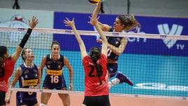 Volley: Mondiali Femminili, l'Italia vince in scioltezza con il Canada