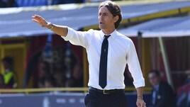 Serie A Bologna, Inzaghi: «Ottimo secondo tempo, felice per i tre punti»