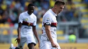 Frosinone-Genoa 1-2: doppietta di Piatek