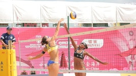 Beach Volley: Menegatti-Orsi Toth partono bene a Qinzhou