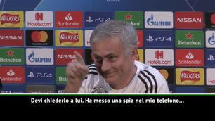 Domanda su Zidane, la risposta di Mou è special