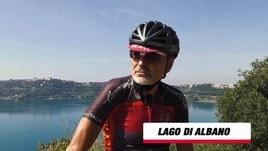 Granfondo Campagnolo di Roma: Il lago Albano