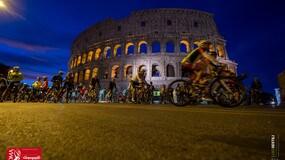 Granfondo Campagnolo di Roma: la magia della partenza