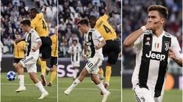 Juventus-Young Boys: la magia di Dybala che sblocca il match