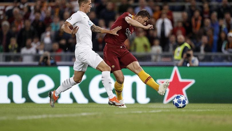 Champions League Roma-Viktoria Plzen 5-0, il tabellino