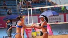 Beach Volley: a Qinzhou Menegatti-Orsi Toth conquistano la semifinale