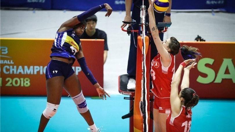 Volley, l'Italia chiude prima fase con la vittoria sulla Cina