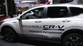 Mondial dell'auto di Parigi,  Honda CR-V hybrid
