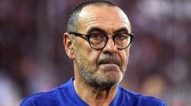 Sarri: Tifo Napoli, col Liverpool partita aperta