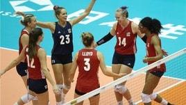 Volley: Mondiali Femminili: risultati e classifiche della 4a Giornata