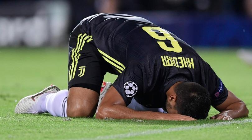 La Juventus perde Khedira per diverse settimane