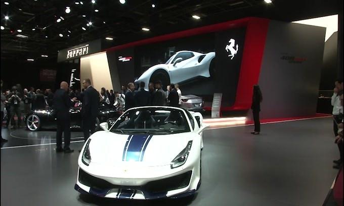 Mondial dell'auto di Parigi, Ferrari Monza SP1 e Monza SP2