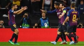 Tottenham-Barcellona: il film della partita
