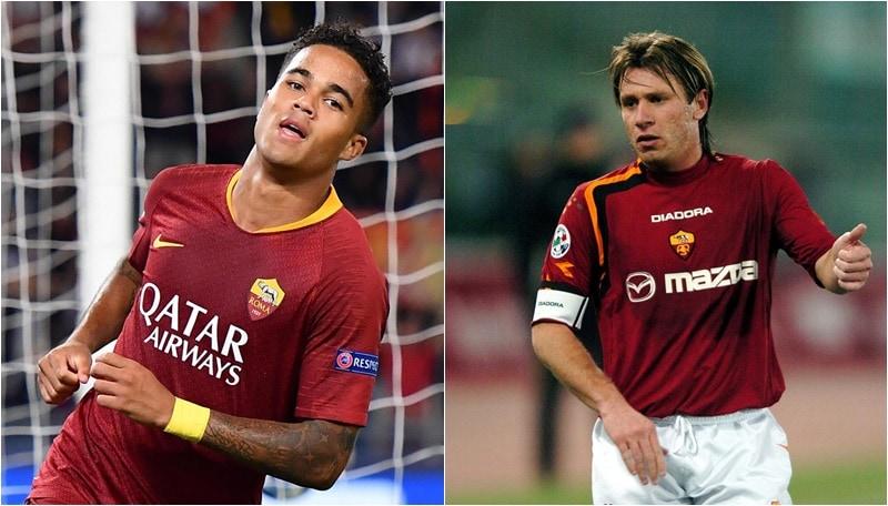 Roma, Kluivert supera Cassano: è il più giovane goleador in Champions