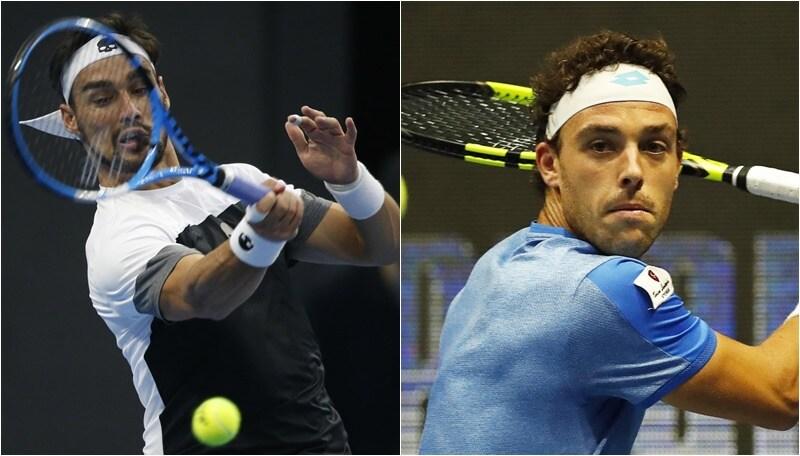 Tennis, Pechino: Fognini ai quarti, fuori Cecchinato