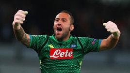 Serie A Napoli, il padre di Ospina: «I compagni hanno imparato a fidarsi di lui»
