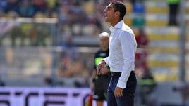 Serie A Frosinone, Longo: «Dovremo essere attenti e cinici»