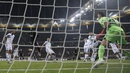 Europa League Eintracht Francoforte-Lazio 4-1, il tabellino
