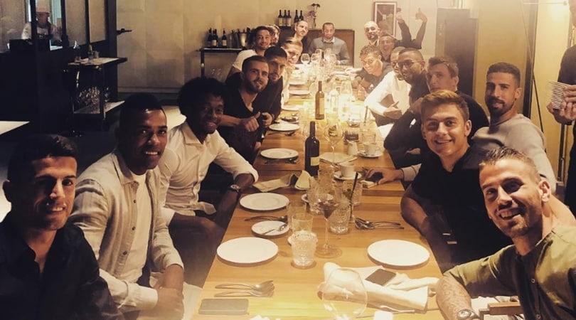 La Juventus si ritrova a cena: offre Pjanic!