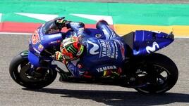 MotoGp, Thailandia: Vinales comanda le prime libere, Rossi secondo