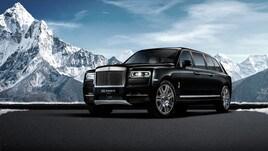 Rolls-Royce Cullinan, quando il Suv diventa Limousine