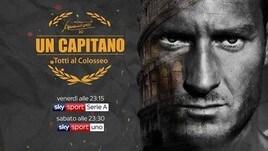 """""""Un capitano - Totti al Colosseo"""""""
