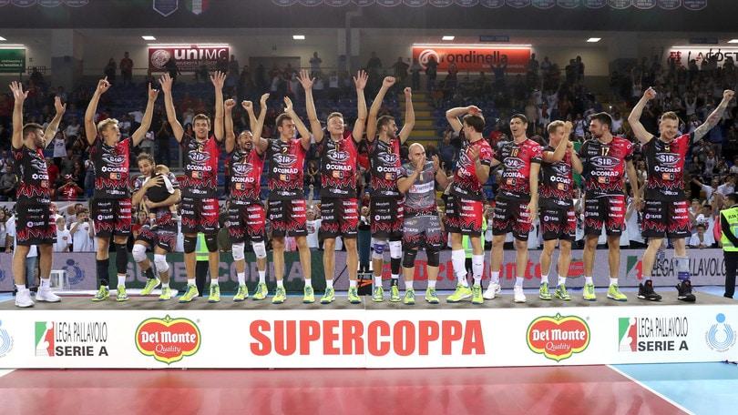 Volley: domani a Perugia è già Supercoppa