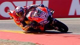 MotoGp, Thailandia: Dovizioso domina terze libere, Rossi settimo
