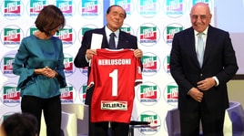 Berlusconi:«Nel mio Monza solo calciatori senza barba, tatuaggi ed orecchini»