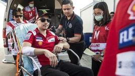 MotoGp Thailandia: Lorenzo non ce la fa, niente Gp