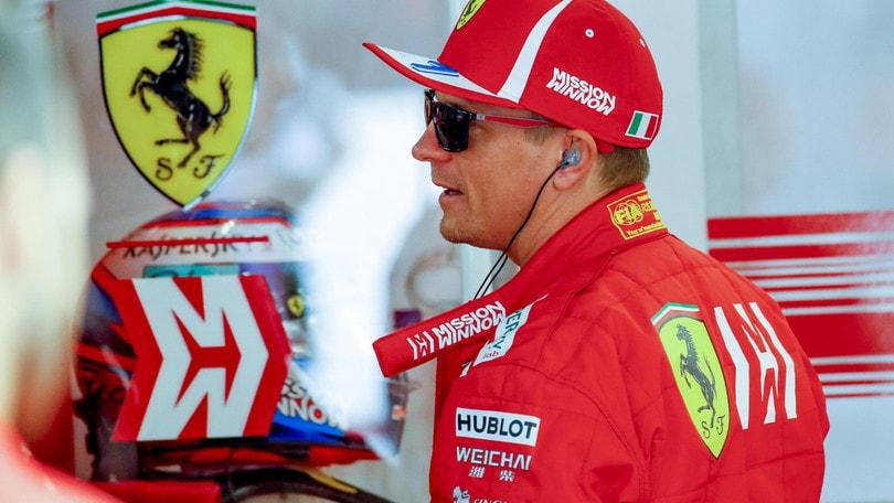 F1: Raikkonen, tempismo scelta gomme non è stato il migliore