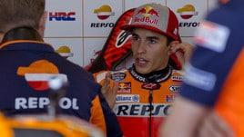 MotoGp Thailandia, Marquez: «Felice, cinquanta pole sono importanti»