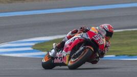 MotoGp, Thailandia: Marquez precede Rossi anche nel Warm Up, quarto Dovizioso