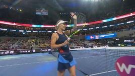 China Open, la Wozniacki distrugge i sogni della Wang