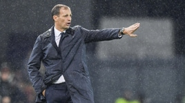 Juventus, Allegri: «Una delle migliori partite. Bentancur mi è piaciuto»