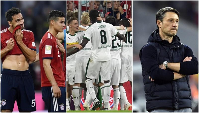 Il Bayern cade ancora: con il Borussia M'Gladbach finisce 0-3