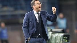Roma, Di Francesco: «Dobbiamo lavorare più da squadra»
