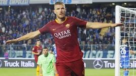 Serie A, Empoli-Roma 0-2: decidono Nzonzi e Dzeko