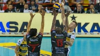 Volley: Supercoppa Italiana, Modena doma Civitanova e raggiunge Trento in finale