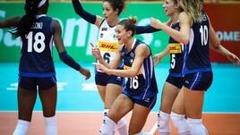 Volley: Mondiali Femminili, l'Italia batte l'Azerbaijan, Top Six più vicina