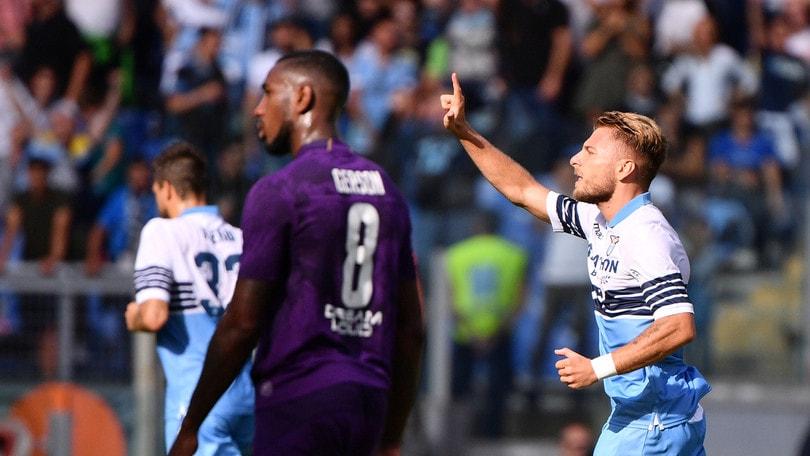 Serie A Lazio-Fiorentina 1-0, il tabellino