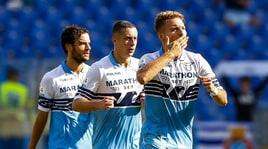 Serie A, Lazio-Fiorentina 1-0: decide una zampata di Immobile
