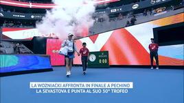 China Open, Wozniacki batte Sevastova e centra il 30° trofeo