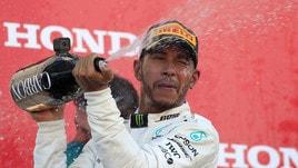 F1, Vettel fa flop: Hamilton a quota mondiale