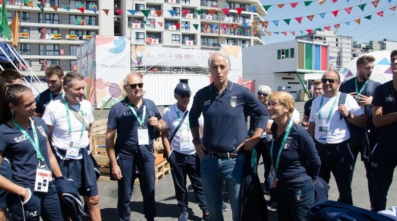 Olimpiadi Giovanili, Malagò al villaggio di Buenos Aires