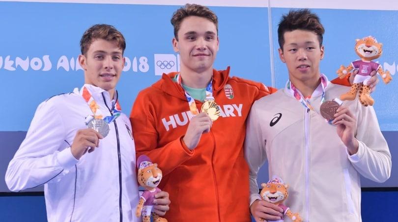 Olimpiadi Giovanili, prime medaglie per l'Italia