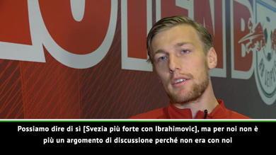 """Svezia, Forsberg su Ibra: """"Se avesse giocato il Mondiale..."""""""