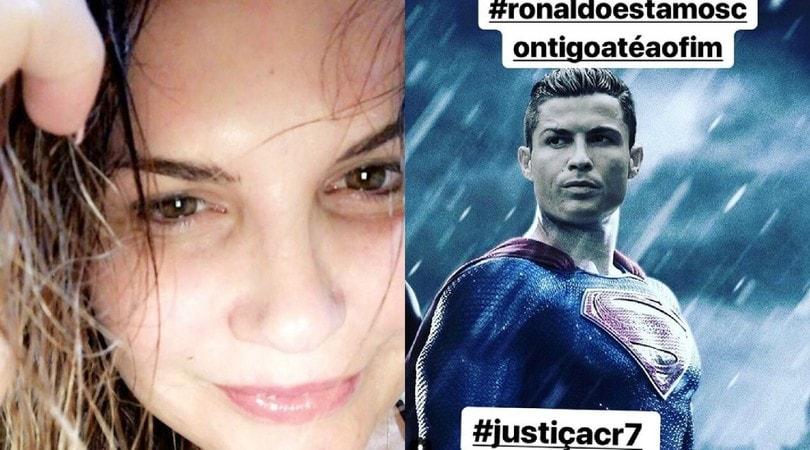 Juventus, la sorella di Ronaldo lancia una campagna social per difenderlo